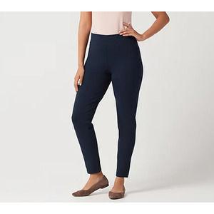 Susan Graver Weekend Stretch Slim-Leg Pants